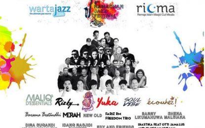 Edisi ke enam Ramadhan Jazz Festival kembali di gelar di Plaza Masjid Cut Meutia