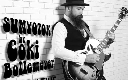 Bercorak progressif jazz/rock, album Sunyotok by Coki Bollemeyer dirilis