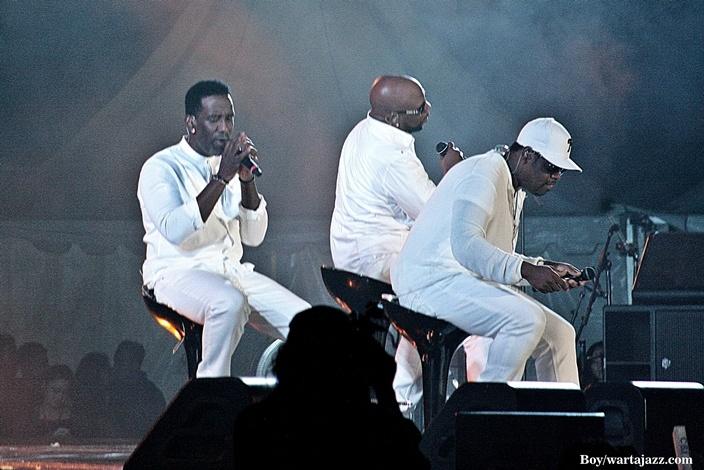 Boyz II Men, kelompok vokal yang terkenal di era 90an hadir di Indiehome Prambanan Jazz 2016