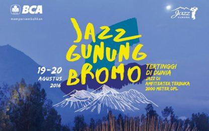 Merayakan kemerdekaan di Puncak Jazz Gunung Bromo