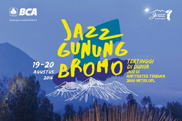 Photo of Merayakan kemerdekaan di Puncak Jazz Gunung Bromo