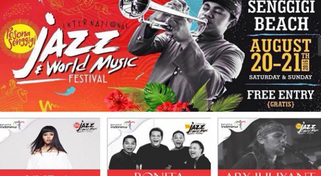 Pesona Senggigi International Jazz & World Music Festival 2016