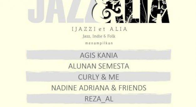 Yuk ke Bandung nonton [Jazz] et Alia garapan Klab Jazz