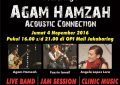 Palembang Jazz Community Live & Coaching Clinic With Agam Hamzah Acoustic Connection