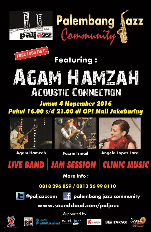 Photo of Palembang Jazz Community Live & Coaching Clinic With Agam Hamzah Acoustic Connection