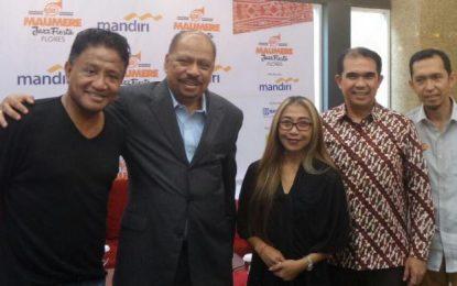 MANDIRI MAUMERE JAZZ FIESTA FLORES Sebuah Festival Jazz ditempat terbuka dengan pemandangan Eksotis di Timur Indonesia