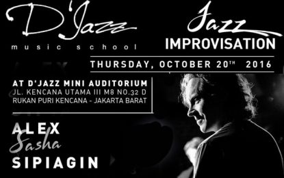 Workshop Improvisasi bersama trumpeter Alex Sipiagin