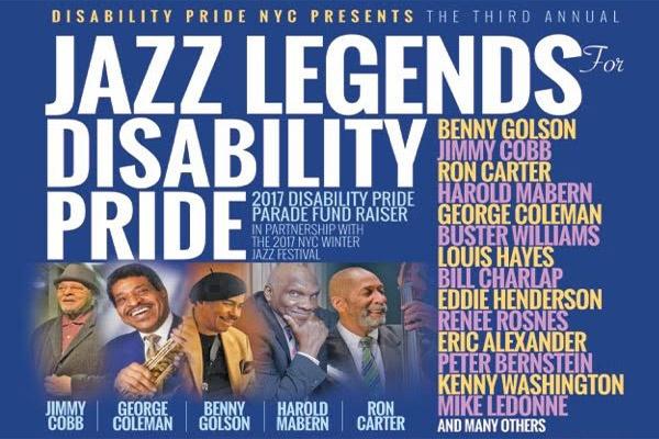 Photo of Konser amal untuk penyandang cacat Jazz Legends for Disability Pride bertabur bintang