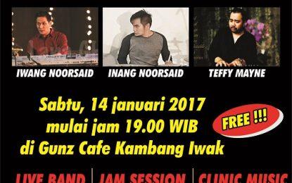 Iwang & Inang Noorsaid serta Teffy Mayne berbagi musikalitas di Pal Jazz