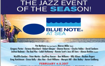 Blue Note at Sea – Konser paling hip ditengah laut