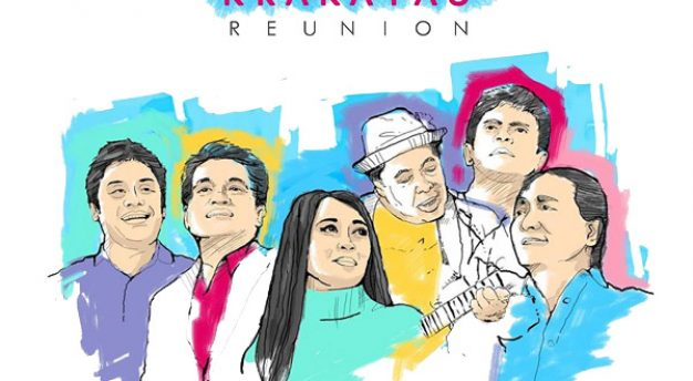 Krakatau Reunion bakal tampil di Rolling Stone
