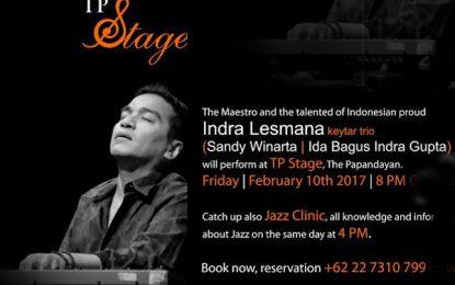 Indra Lesmana Keytar Trio bakal hiasi TP Jazz Weekend Bandung