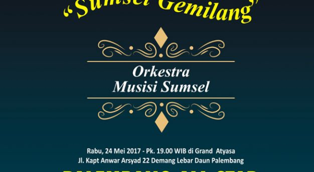 Songsong Asian Games, Palembang All Star gelar pertunjukan Orchestra Sumsel Gemilang