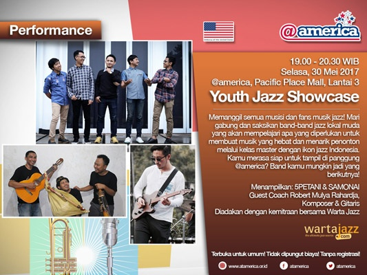 Youth Jazz Showcase Series Mei 2017