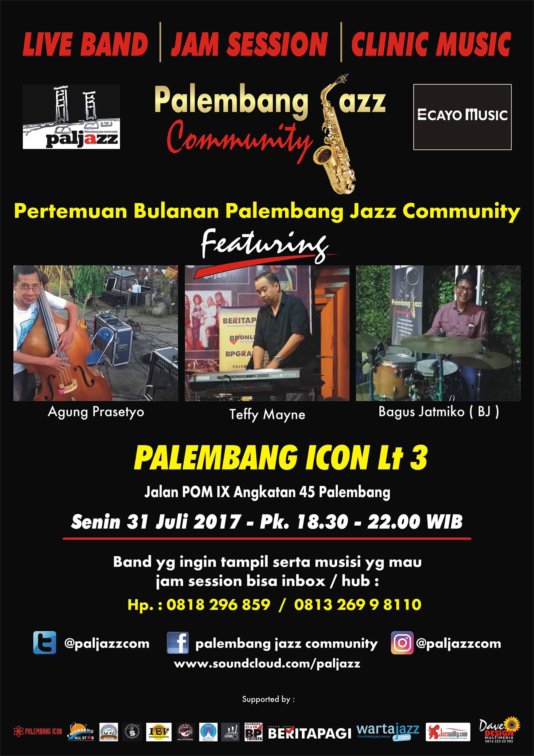 Photo of PAL JAZZ KONSISTEN DENGAN CLINIC MUSIC