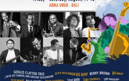 Ubud Village Jazz Festival 2017 undang Gerald Clayton Trio, Balawan, Samy Thiebault hingga Steve Barry