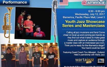 Youth Jazz Showcase Series edisi Juli hadirkan Satria and the Monster, Live at Wonderland plus gitaris Tiyo Alibasjah