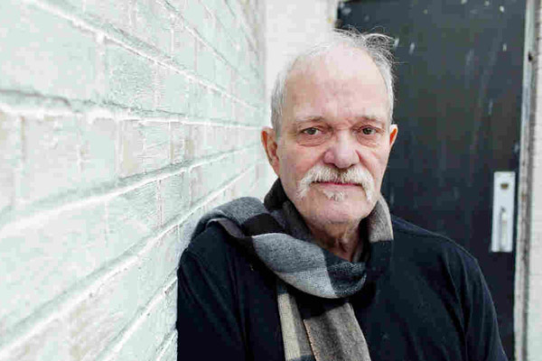John Abercrombie at Avatar Studios NYC in 2013. John Rogers / ECM Records