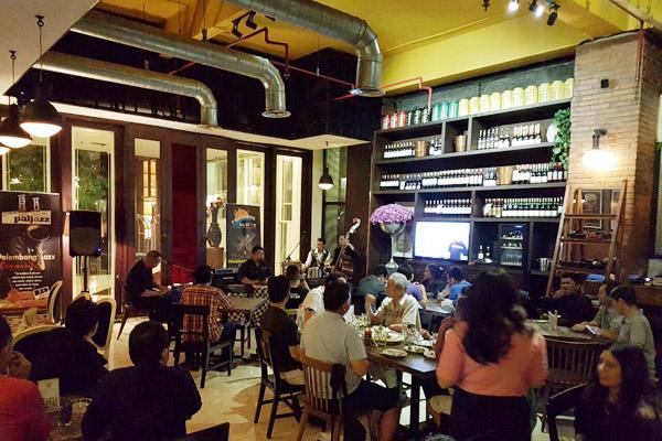 Sunday Jazz @Brava Parlour The Arista Hotel Palembang