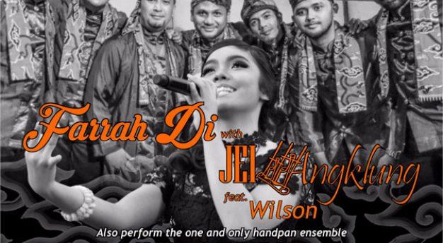 Farah Di with JEI Angklung feat Wilson dan Balaruna tampil di TP Stage Bandung