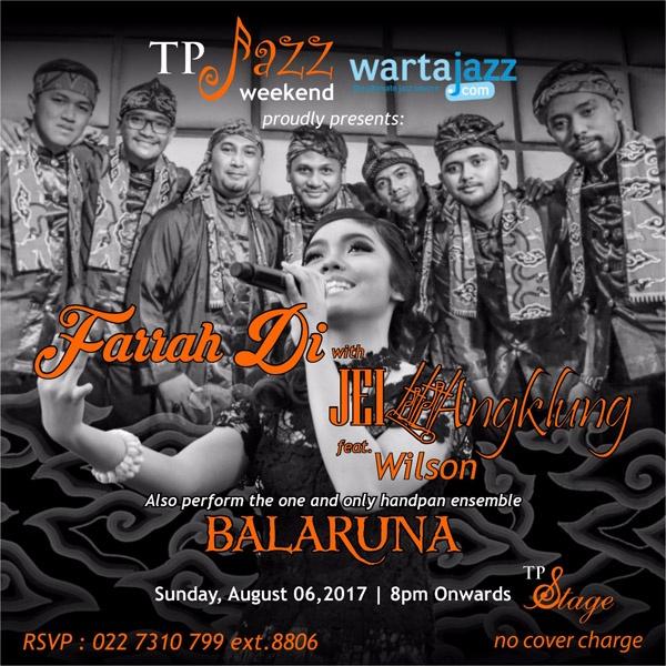 Photo of Farah Di with JEI Angklung feat Wilson dan Balaruna tampil di TP Stage Bandung