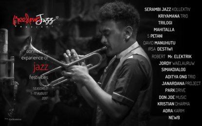 Freedom Jazz Festival 2017 digelar