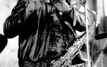 Tenor saxophonist George Adams