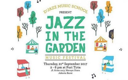Jazz In The Garden persembahan D'Jazz Music School