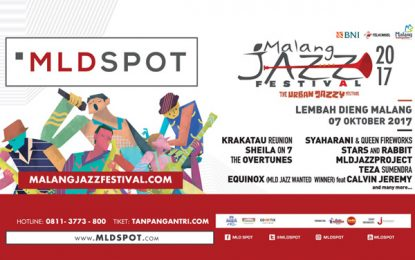 Malang Jazz Festival 2017 digelar di kawasan Wisata Lembah Dieng Malang