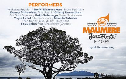 Maumere Jazz Fiesta Flores siap digelar kembali untuk kali kedua