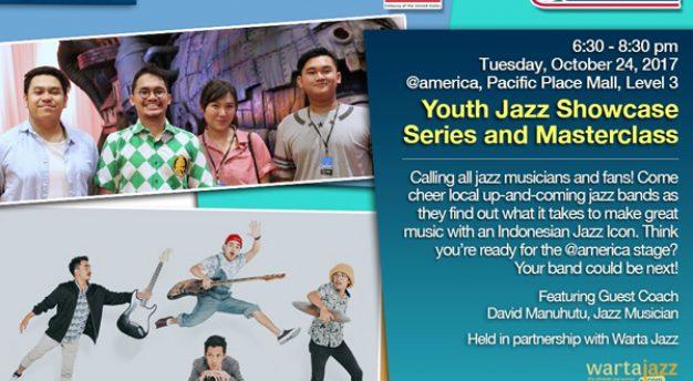 Youth Jazz Showcase Series edisi Oktober 2017: Tubless Band dan Mahitalla serta David Manuhutu sebagai Guest Commentator