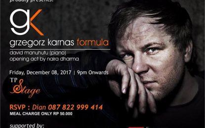 Grzegorz Karnas tour sambangi Jakarta, Bandung dan Manado
