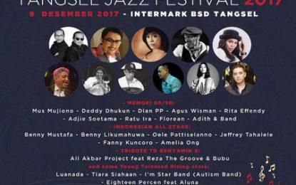 Tangerang Selatan (Tangsel) Jazz Festival 2017 sajikan Mus Mujiono, Indonesian All Stars dan musisi 80-90an