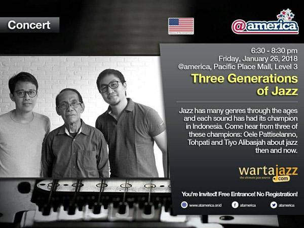 Three Generations of Jazz