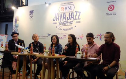 Jakarta International BNI Java Jazz Festival 2018 usung Celebrate Jazz in Diversity
