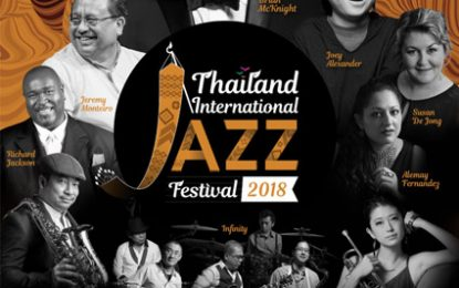 Thailand International Jazz Festival 2018 hadirkan Joey Alexander dan Brian McKnight