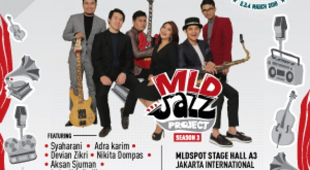 6 Musisi Jazz Muda Indonesia yang tergabung dalam MLDJAZZPROJECT SEASON 3 akan tampil dalam JAKARTA INTERNATIONAL BNI JAVA JAZZ FESTIVAL 2018