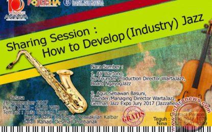 Diskusi Fojekha Pontianak, Wartajazz bangun Industri Jazz Berawal Dari Komunitas