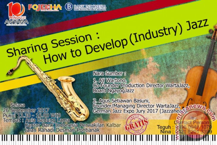 Photo of Diskusi Fojekha Pontianak, Wartajazz bangun Industri Jazz Berawal Dari Komunitas