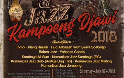 Wawancara dengan Rudy Ermawan – arsitek Jazz Kampoeng Djawi