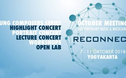 "October Meeting 2018 ""Reconect"", Contemporary Music and Musicians"