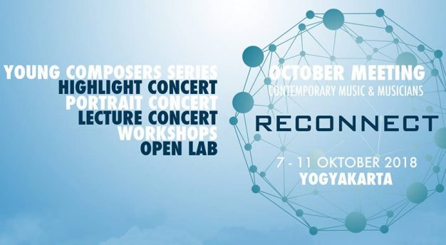 """October Meeting 2018 """"Reconect"""", Contemporary Music and Musicians"""