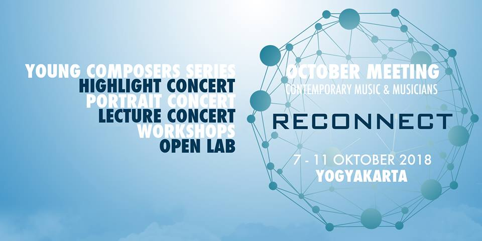 "Photo of October Meeting 2018 ""Reconect"", Contemporary Music and Musicians"