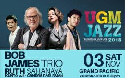 Bob James Ramaikan UGM Jazz 2018
