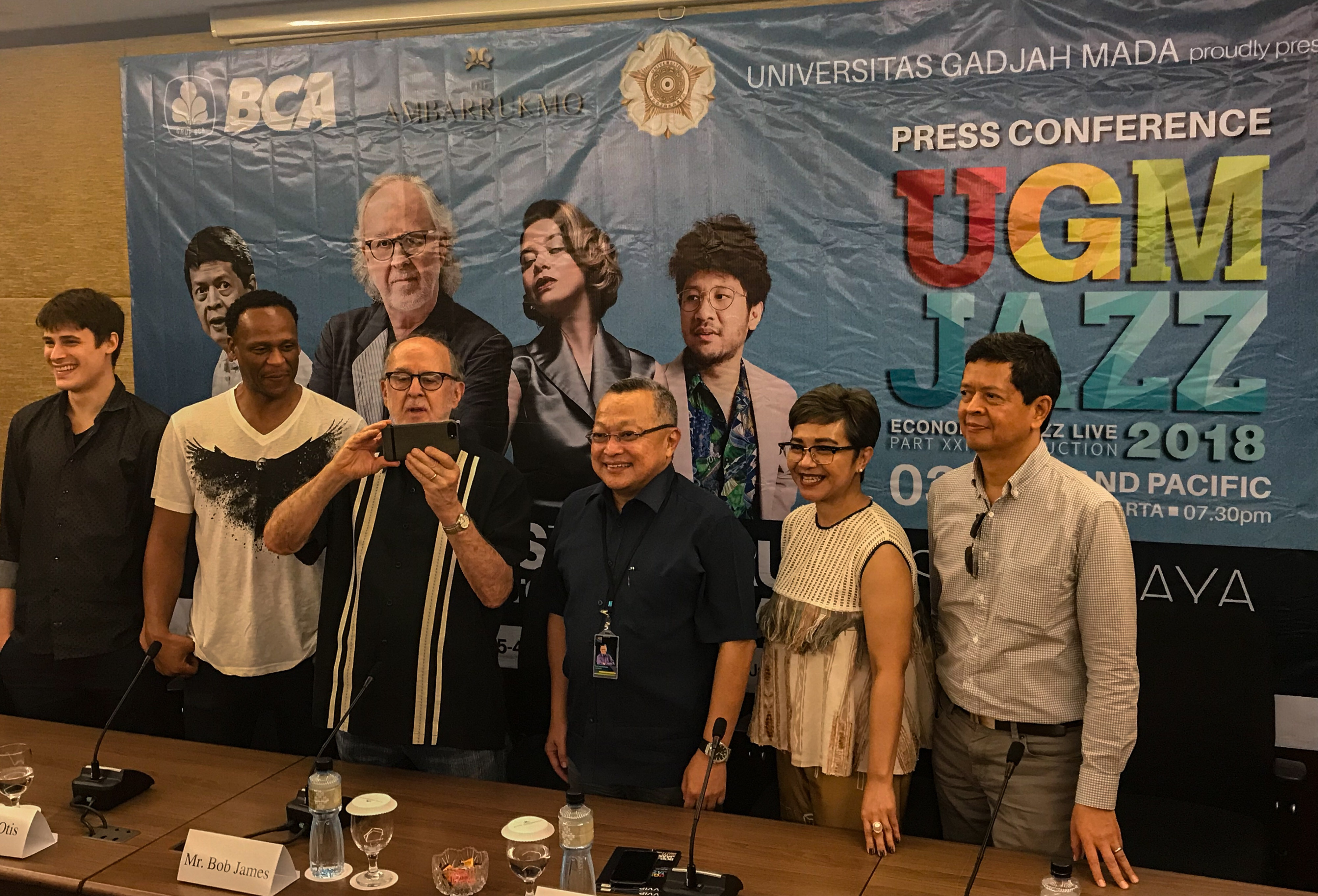 Photo of UGM Jazz 2018 : Hadirkan Bob James  Trio dan Para Musisi Papan Atas Nasional