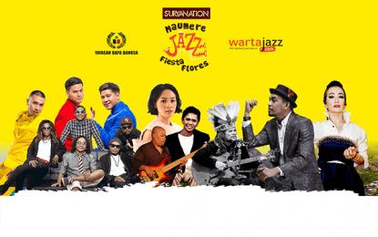 Suryanation Maumere Jazz Fiesta Flores 2018 hadirkan Andien, RAN, Glenn Fredly, Reza Artamevia, Komodo dan Papua Original