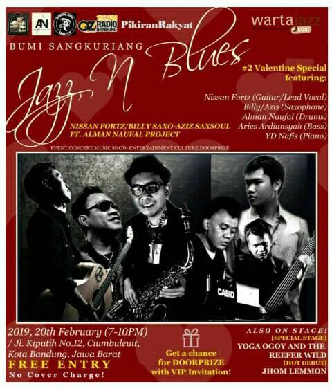 Jazz n Blues- Februari 2019