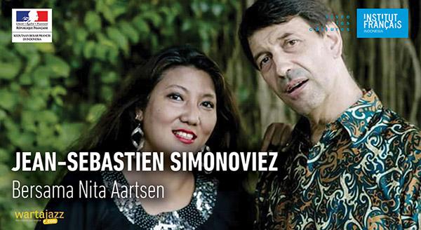 Photo of Konser Jean Sébastien Simonoviez bersama Nita Aartsen di IFI Jakarta