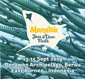 4th Maratua Jazz & Dive Fiesta  13-15 Sept 2019