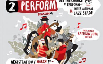 MLDSPOT Kembali Membuka Kesempatan Untuk Para Musisi Jazz Muda Menunjukan Bakat Melalui MLDare2Perform Season 4